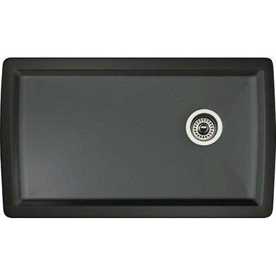 Blanco Diamond 33.5 L x 18.5 W Undermount Kitchen Sink Color: Anthracite