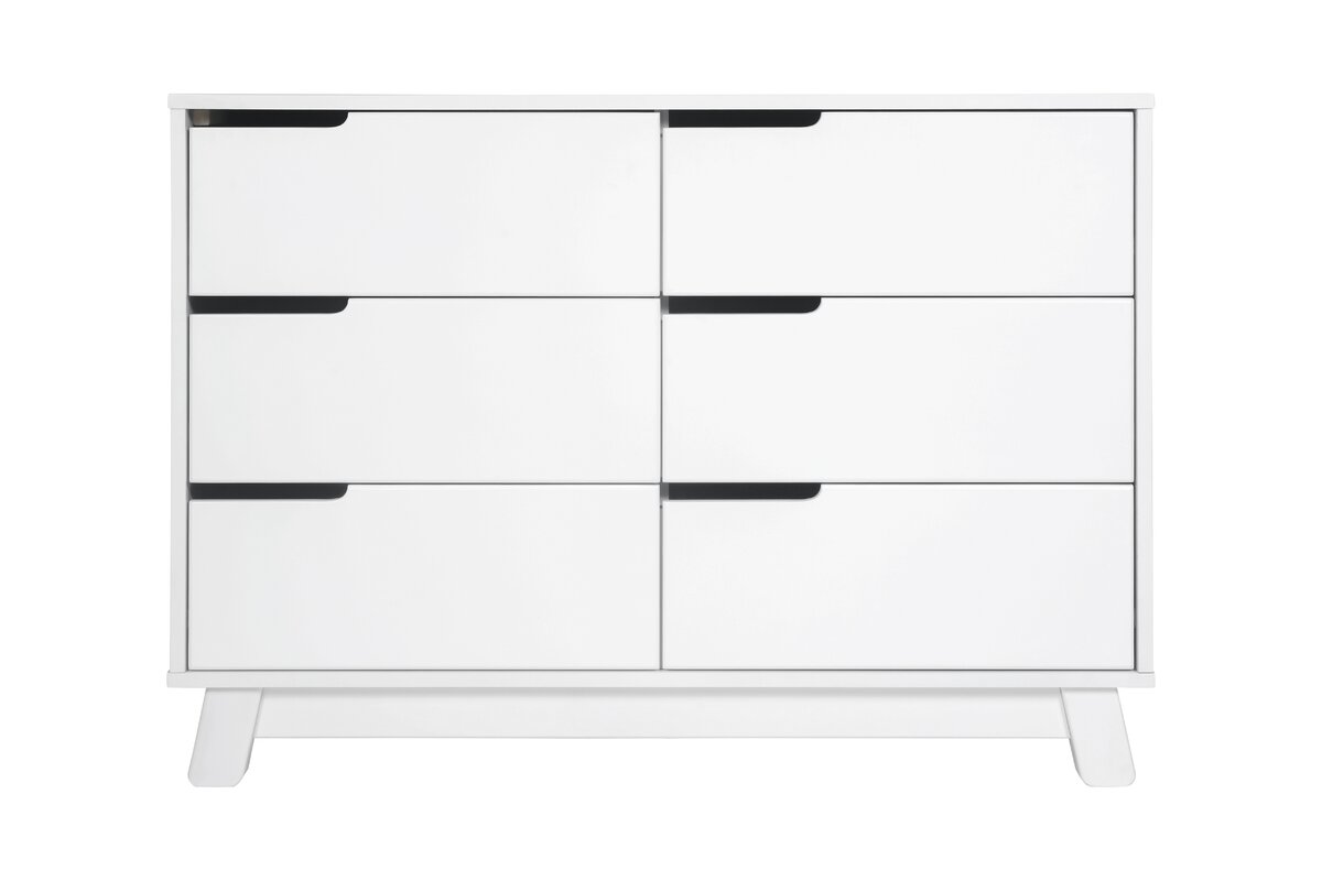 Hudson 6 Drawer Double Dresser