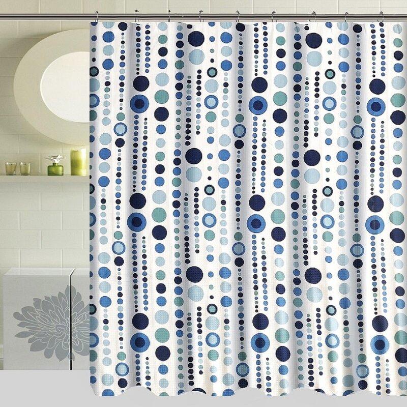 Ebern Designs Marie Single Shower Curtain Reviews Wayfair