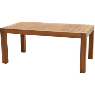 Woodcrest Teak Dining Table By Sol 72 Outdoor