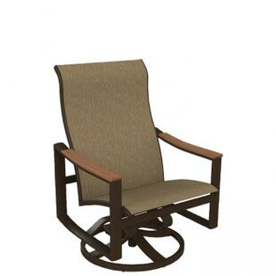Brazo Sling Swivel Action Patio Chair