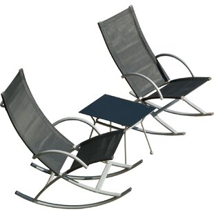 Zipcode Design Gengler 3 Piece Conversation Set