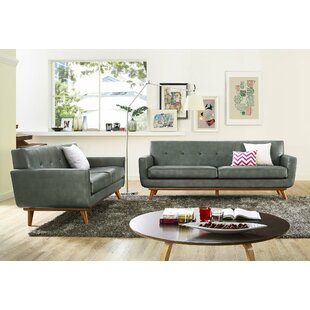 Haskin 2 Piece Living Room Set