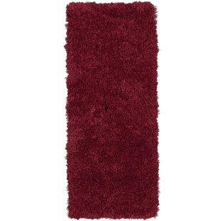 Costantino Soft High Pile Red Area Rug by Wrought Studio
