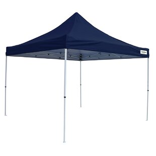 M-Series Pro 10 Ft. W x 10 Ft. D Steel Pop-Up Canopy by Caravan Sports