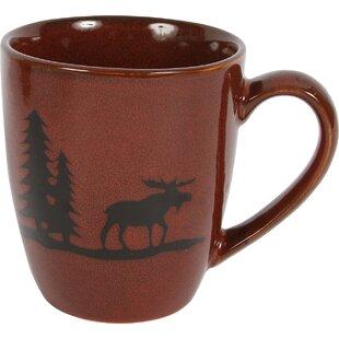 Comet Moose Stoneware 12 Oz. Mug