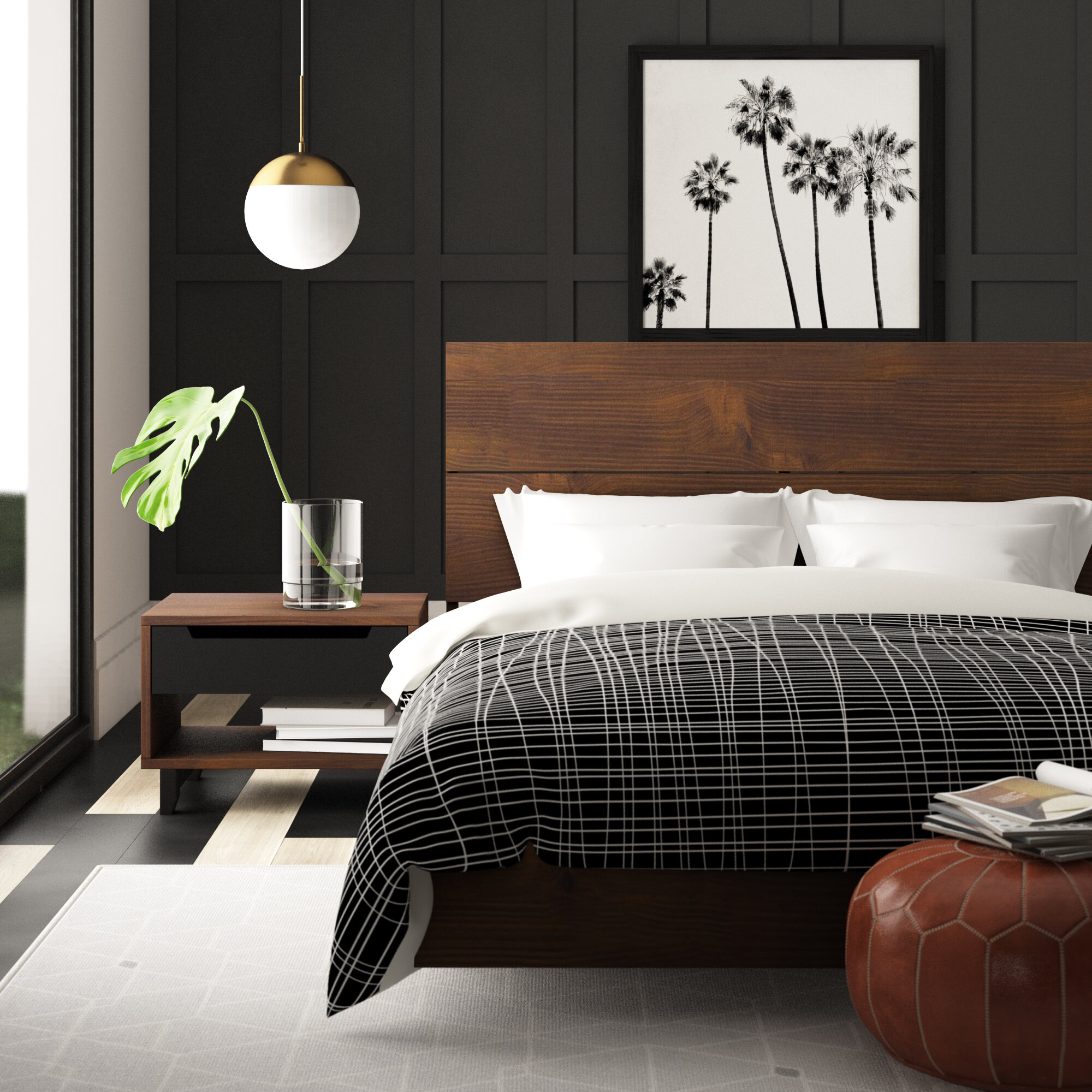 Masten Platform 3 Piece Bedroom Set
