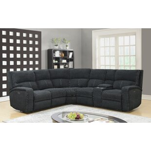 Coupon Stephan Reclining Sectional by Ebern Designs Reviews (2019) & Buyer's Guide