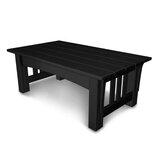Mission Plastic/Resin Coffee Table