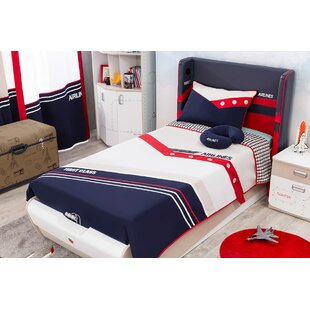 Compare & Buy First Class Airplane Twin Panel Bed with Storage by Cilek Reviews (2019) & Buyer's Guide