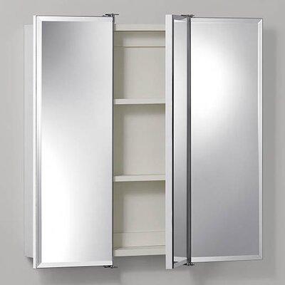 Rebrilliant Terrell 36 x 28 Surface Mount Medicine Cabinet