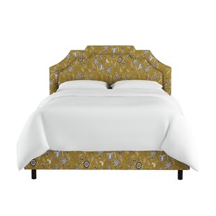 Edmondson Linen Upholstered Panel Bed