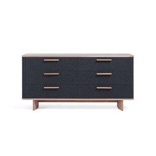Brayden Studio Jeb 6 Drawer Double Dresser