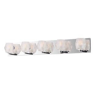 Wrought Studio Miesner 5-Light LED Vanity Light