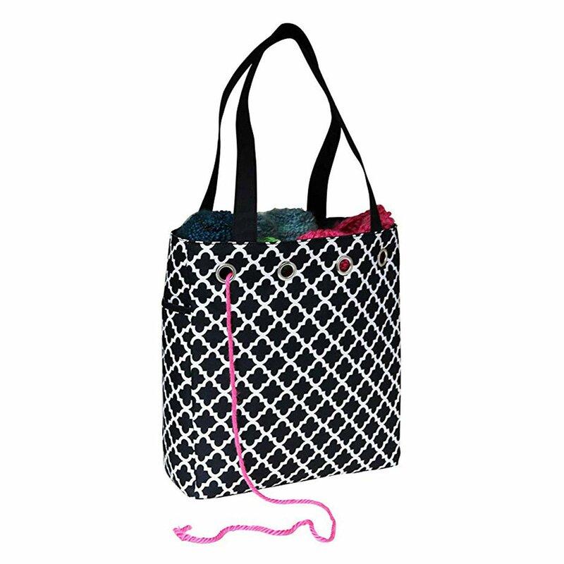 yarnknittingcrochet FABRIC OPTIONS Chic Fabrique Project Bag