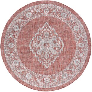 Haxby Traditional Medallion Terra Indoor/Outdoor Area Rug