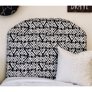 Find the perfect Houck Arched Twin/Twin XL Upholstered Panel Headboard by Zoomie Kids