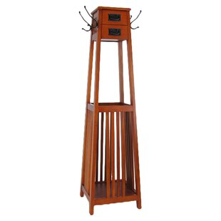 Darby Home Co Vertical Squared Legs Coat Stand