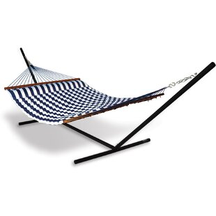 Universal Stand Polyester Hammock With Stand by Hammaka Cool