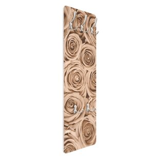 Vintage Roses Wall Mounted Coat Rack By Symple Stuff