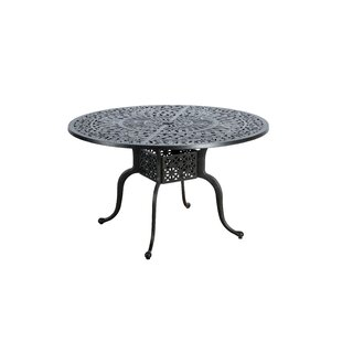 Dunnes Metal Dining Table by Darby Home Co