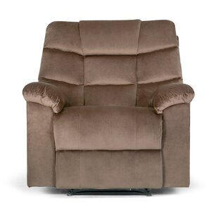 Ducharme Contemporary Padded Manual Recliner