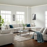 Clarita Reversible Modular Sectional with Ottoman by Trule