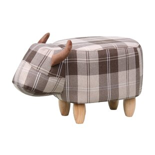 Brodie The Cow Footstool By Gardeco