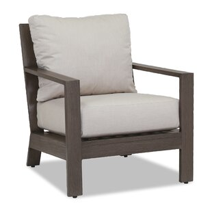 Laguna Canvas Flax Armchair with Cushion