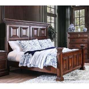 Encina Traditional King Panel Bed