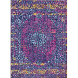 Shopping for Almonte Distressed Pink/Teal Area Rug By Bungalow Rose