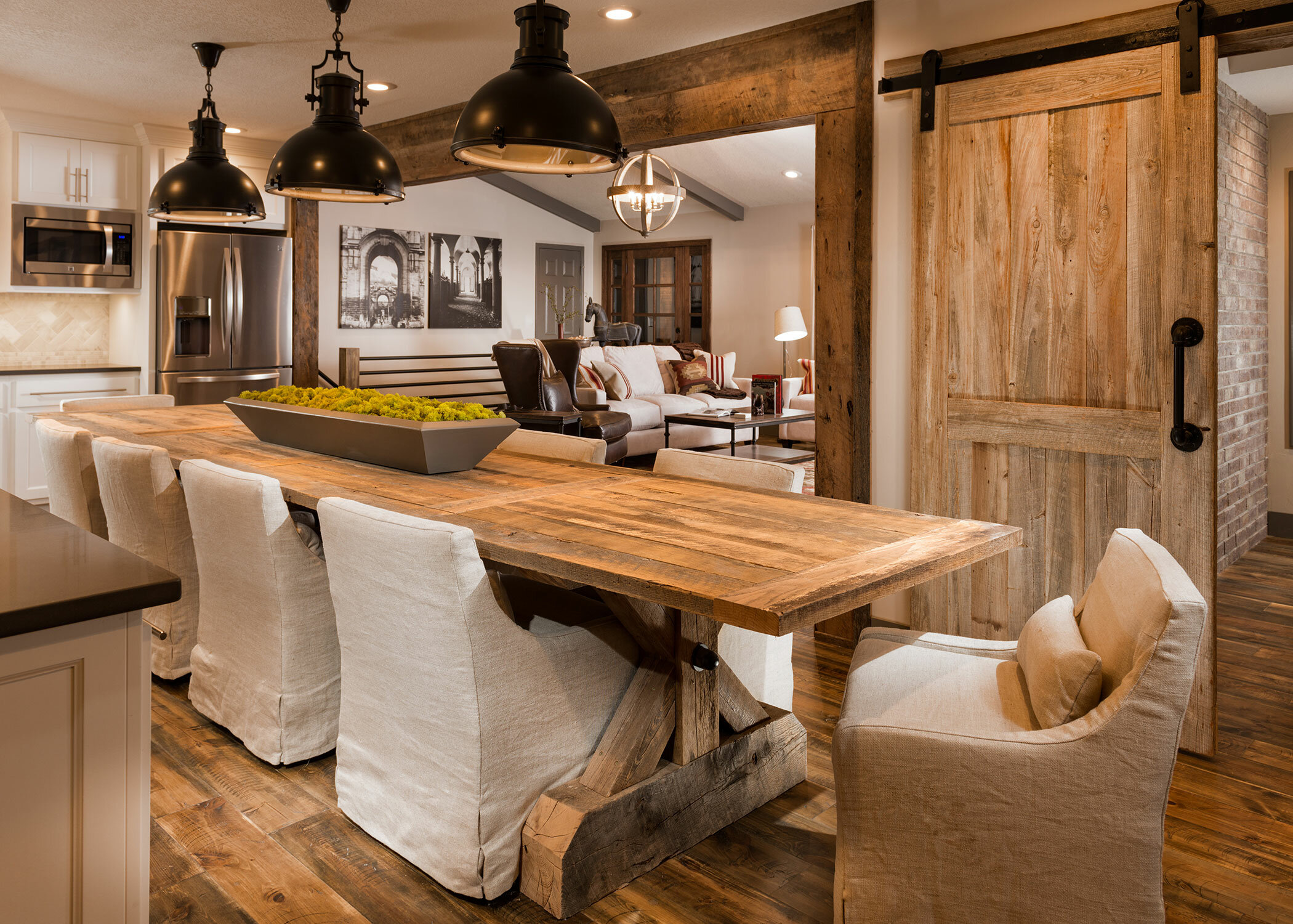 11 Times a Barn Door Made the Space  Wayfair