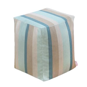 Adamstown Outdoor/Indoor Cube Ottoman by Beachcrest Home