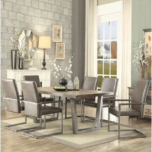 Bricelyn 7 Pieces Dining Set Brayden Studio