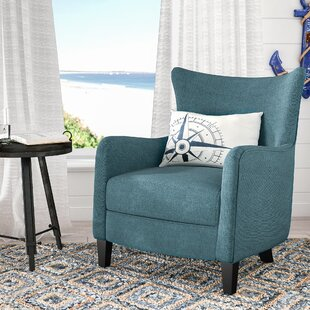 Bargain Nisha Wingback Chair By Beachcrest Home
