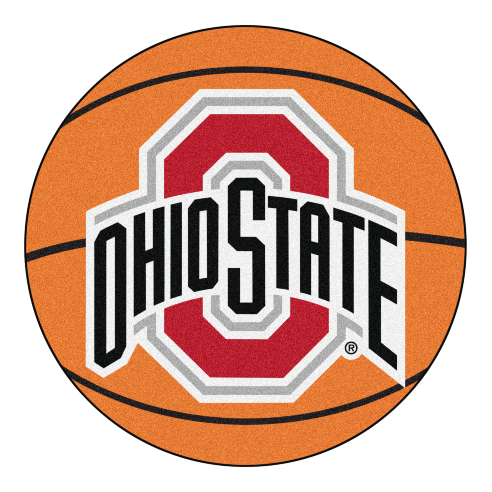 Fanmats Ncaa Ohio State University Basketball 27 In X 27 In Non Slip Indoor Only Mat Wayfair