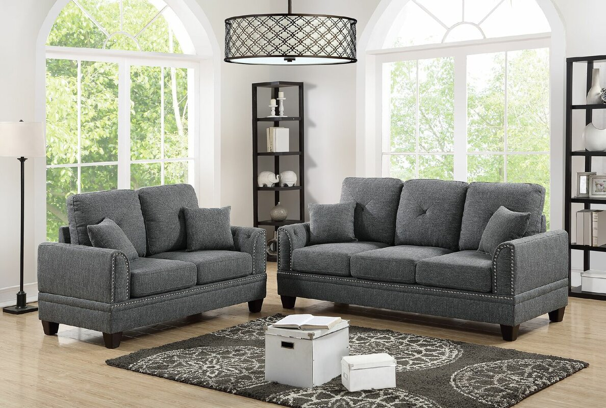 Champine 2 Piece Living Room Set