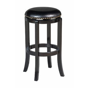Anacortes Backless 29 Swivel Bar Stool Alcott Hill