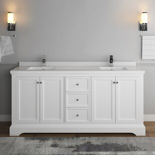 Windsor 72 Double Bathroom Vanity Set by Fresca