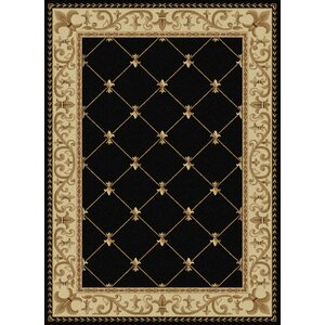 Clarence Black/Gold Area Rug