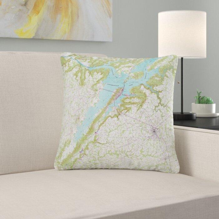 Peachy Lake Guntersville Al Non Corded Indoor Outdoor Throw Pillow Pdpeps Interior Chair Design Pdpepsorg