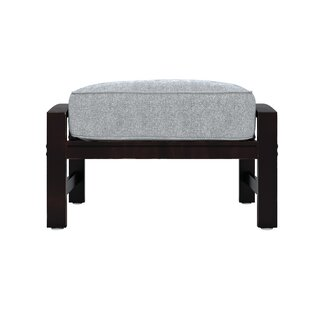 Ivy Bronx Luedtke Ottoman with Cushion