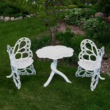 Whaley 3 Piece Bistro Set