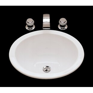Looking for Suzanne Ceramic Circular Undermount Bathroom Sink with Overflow ByBates & Bates