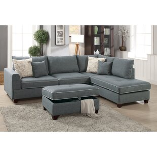 Fantastic Malta Reversible Sectional With Ottoman Spiritservingveterans Wood Chair Design Ideas Spiritservingveteransorg