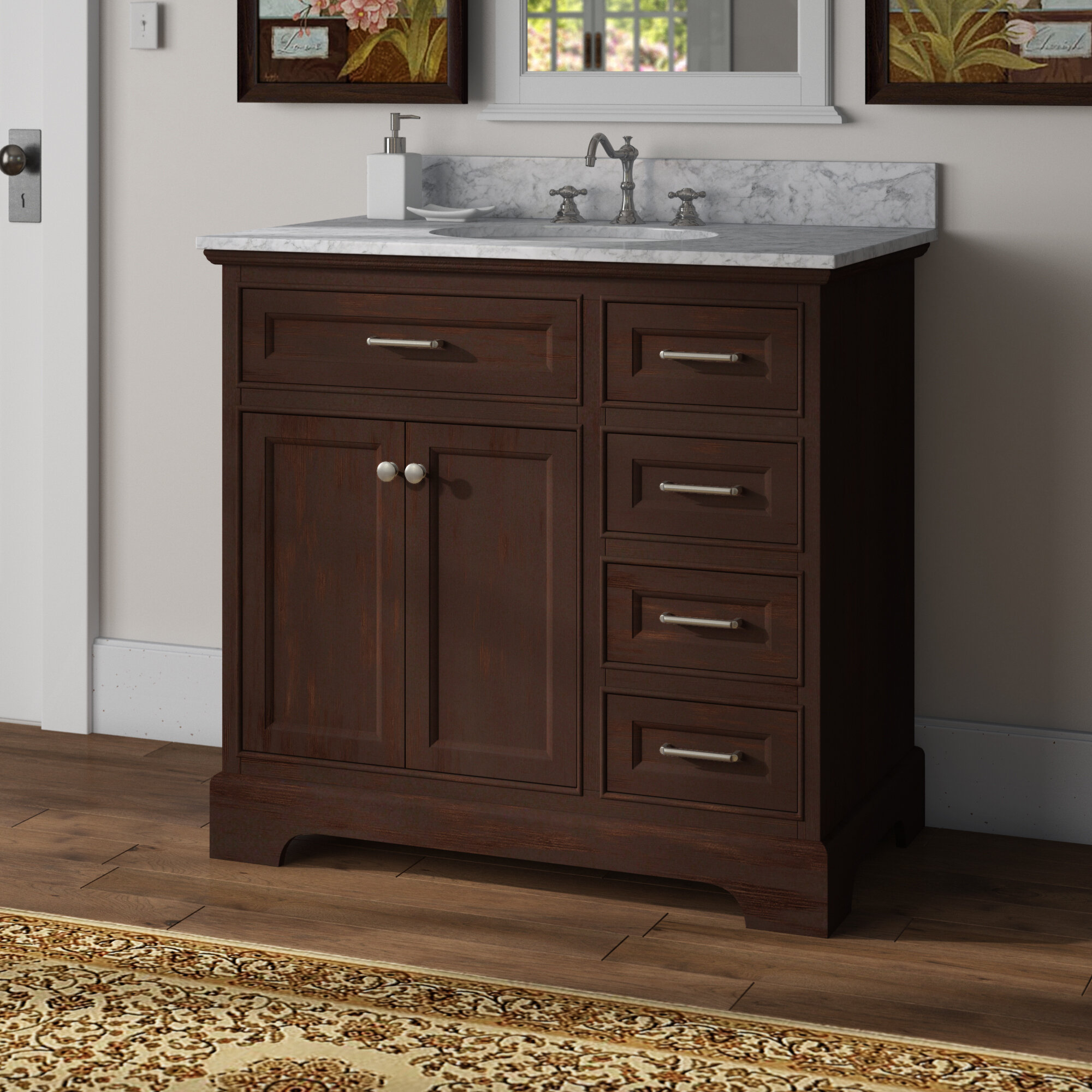 Kingon 36 Single Bathroom Vanity Set