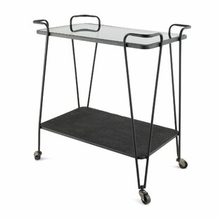 Geoffrey Serving Cart By Ebern Designs
