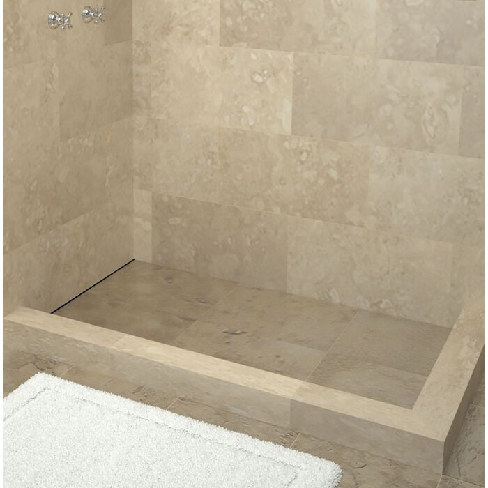Tile Redi 72 X 42 Double Threshold Shower Base With Drain Top