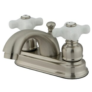 Kingston Brass Centerset Bathroom Faucet with Drain Assembly