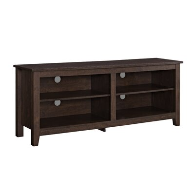 Beachcrest Home Sunbury TV Stand for TVs up to 60 Color: Traditional Brown